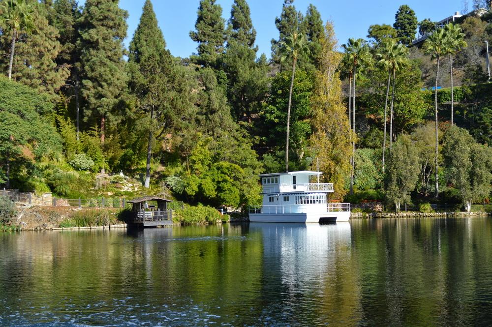Lake Shrine Boat