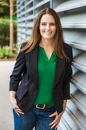 SERENA WOODWARD, PROJECT MANAGER FOR ECOCENTRIX LANDSCAPE ARCHITECTURE